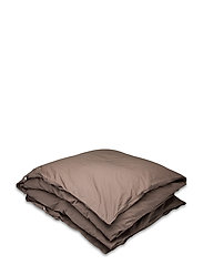 Hope Plain Duvet Cover - BROWNIE