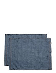 Denise Coated placemat - DENIM