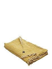 Hannelin Throw - YELLOWISH/NATURAL