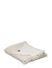 Hannelin Throw - NATURAL/WHITE