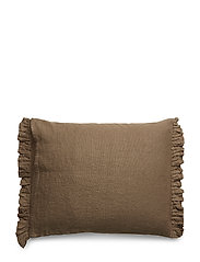 Soul Cushion with fringe - TAUPE