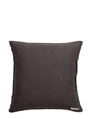 Sunshine Fringe Cushion - CHARCOAL
