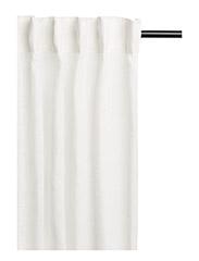 Segel Curtain with headingtape - WHITE