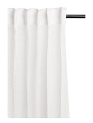Dalsland Curtain with headingtape - WHITE