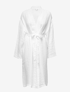 Fresh Laundry Kimono - kylpytakit - white