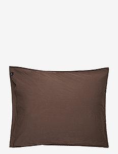 Hope Plain Pillowcase - pudebetræk - brownie