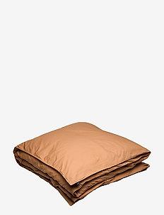 Hope Plain Duvet Cover - påslakan - amber