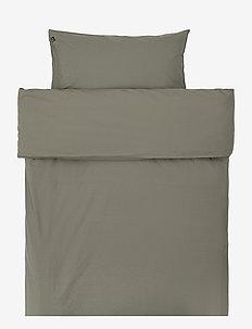 Hope Plain Duvet Cover - påslakan - khaki