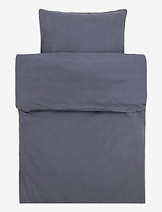 Hope Plain Duvet Cover - sengesæt - silence