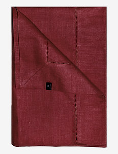 Ebba Tablecloth - tafellakens & lopers - deep red