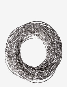 Kerala Napkin Ring - serviettringer & serviettholdere - silver
