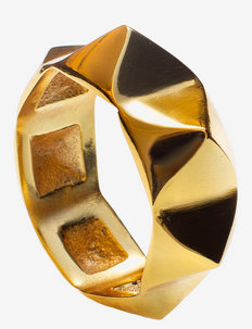 Lyon Napkin Ring - serviettringer & serviettholdere - brass