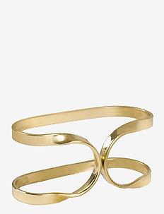 Oslo Napkin Ring - serviettringer & serviettholdere - brass