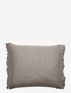 Soul Cushion with fringe - kuddar & täcken - lead