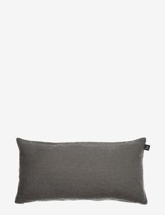 Sunshine Cushion with zip - kuddar - charcoal