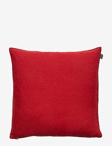 Sunshine Cushion with zip - kuddar - true red