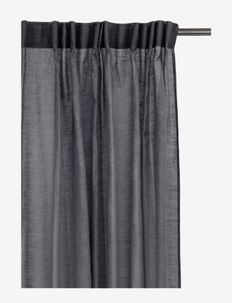 Dalsland Curtain with headingtape - gardiner - charcoal