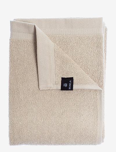 Lina towel - håndklær & badelaken - mother of pearl