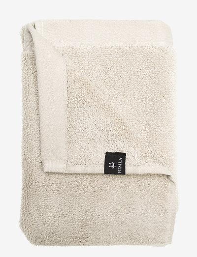 Maxime Towel - håndklær & badelaken - mother of pearl