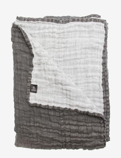 Hannelin Bedspread - sengetepper - charcoal/white