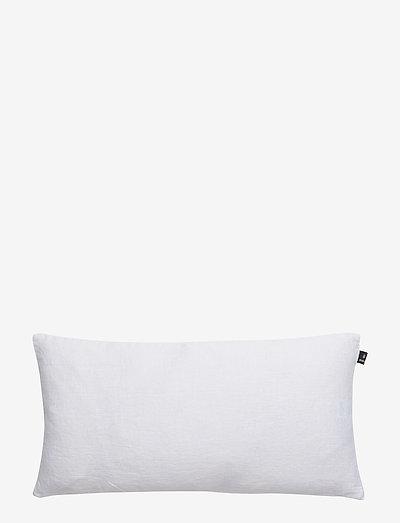Sunshine Cushion with zip - puter - white
