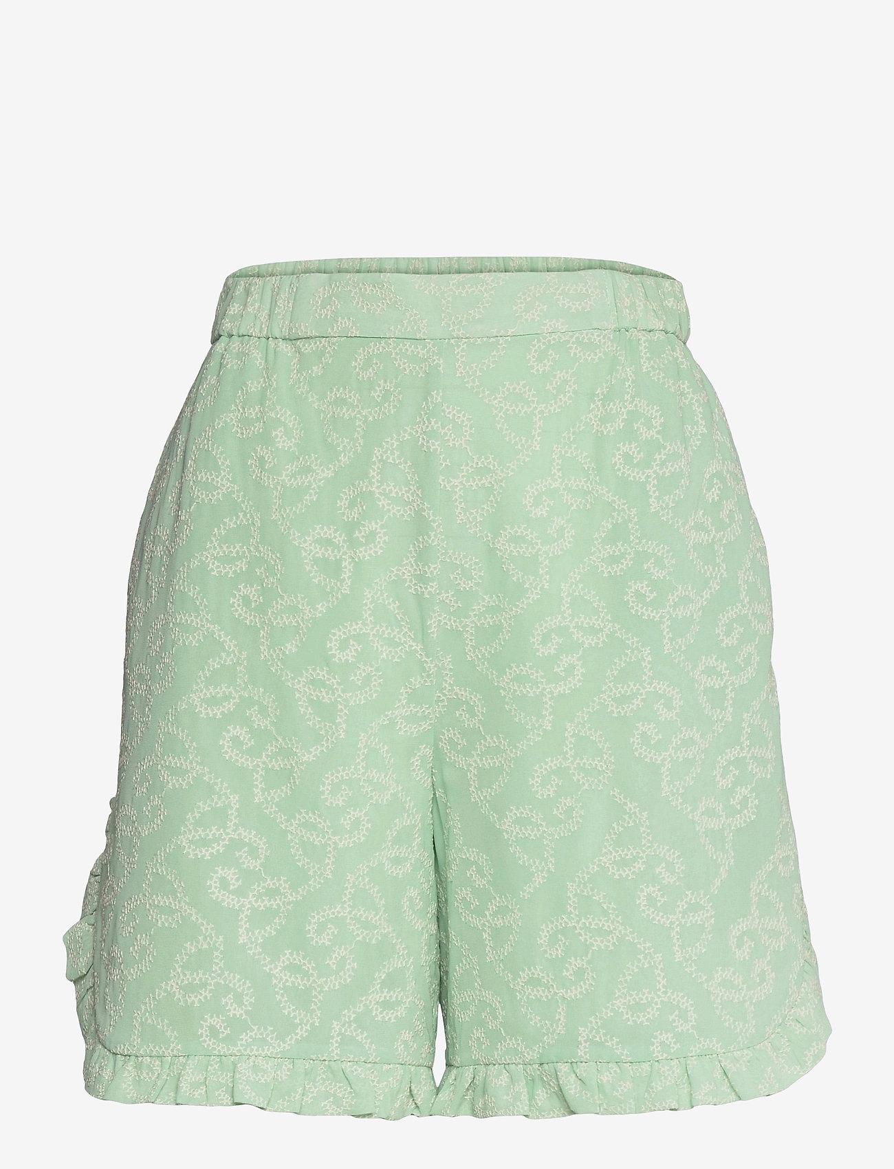 Hofmann Copenhagen - Esme - shorts casual - pure mint - 0