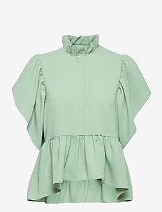 Loraine - kortærmede bluser - pure mint