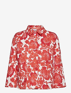 Kamilia Print - kleding - coral print