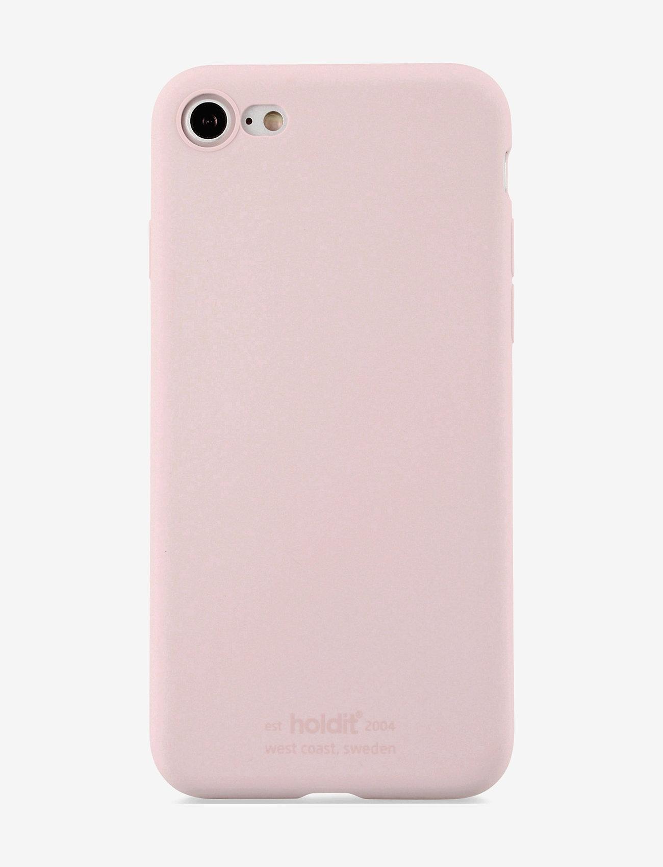 Holdit - Silicone Case iPhone 7/8/SE - puhelimen kuoret - blush pink - 1