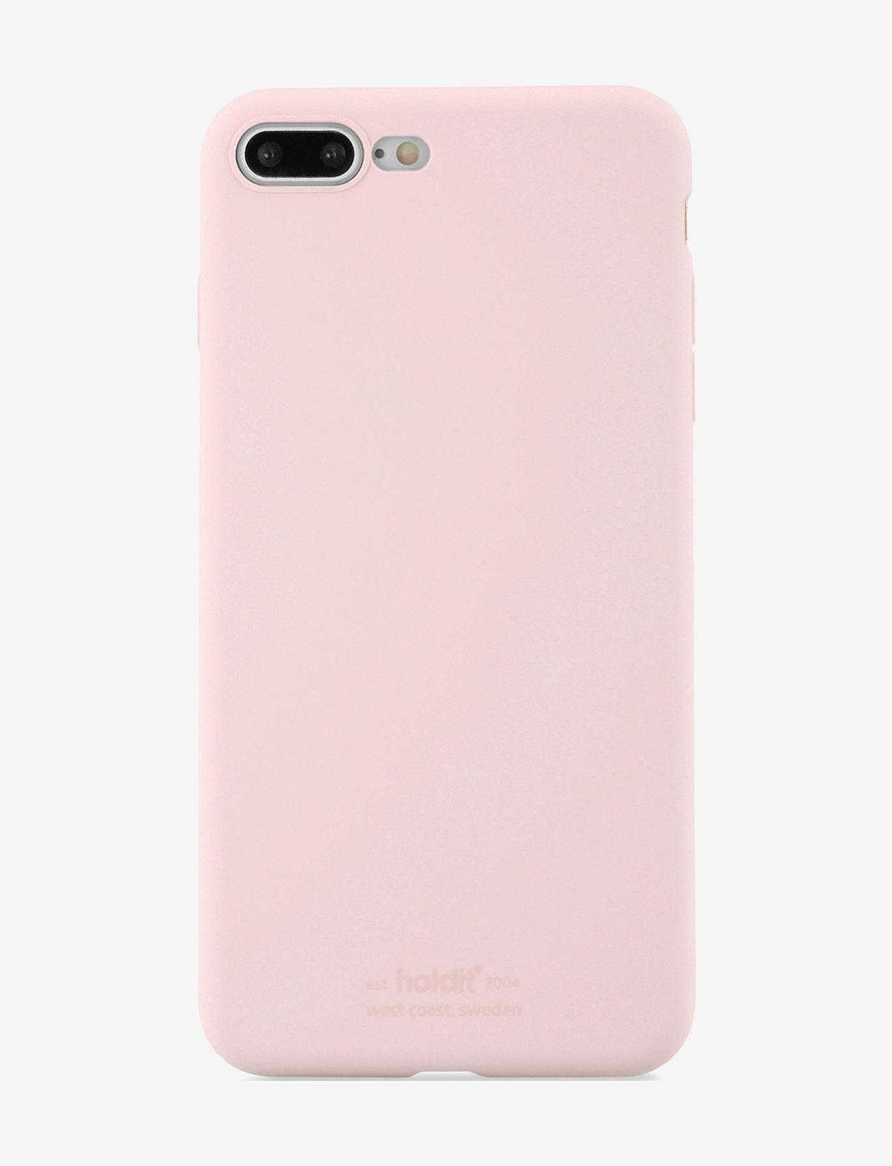 Holdit - Silicone Case iPhone 7/8 Plus - puhelimen kuoret - blush pink - 1