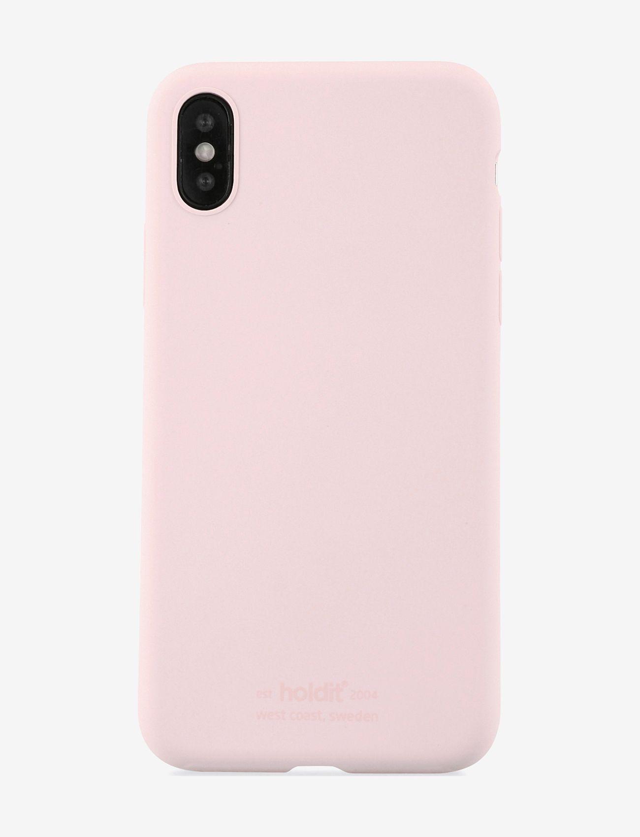 Holdit - Silicone Case iPhone X/Xs - puhelimen kuoret - blush pink - 1