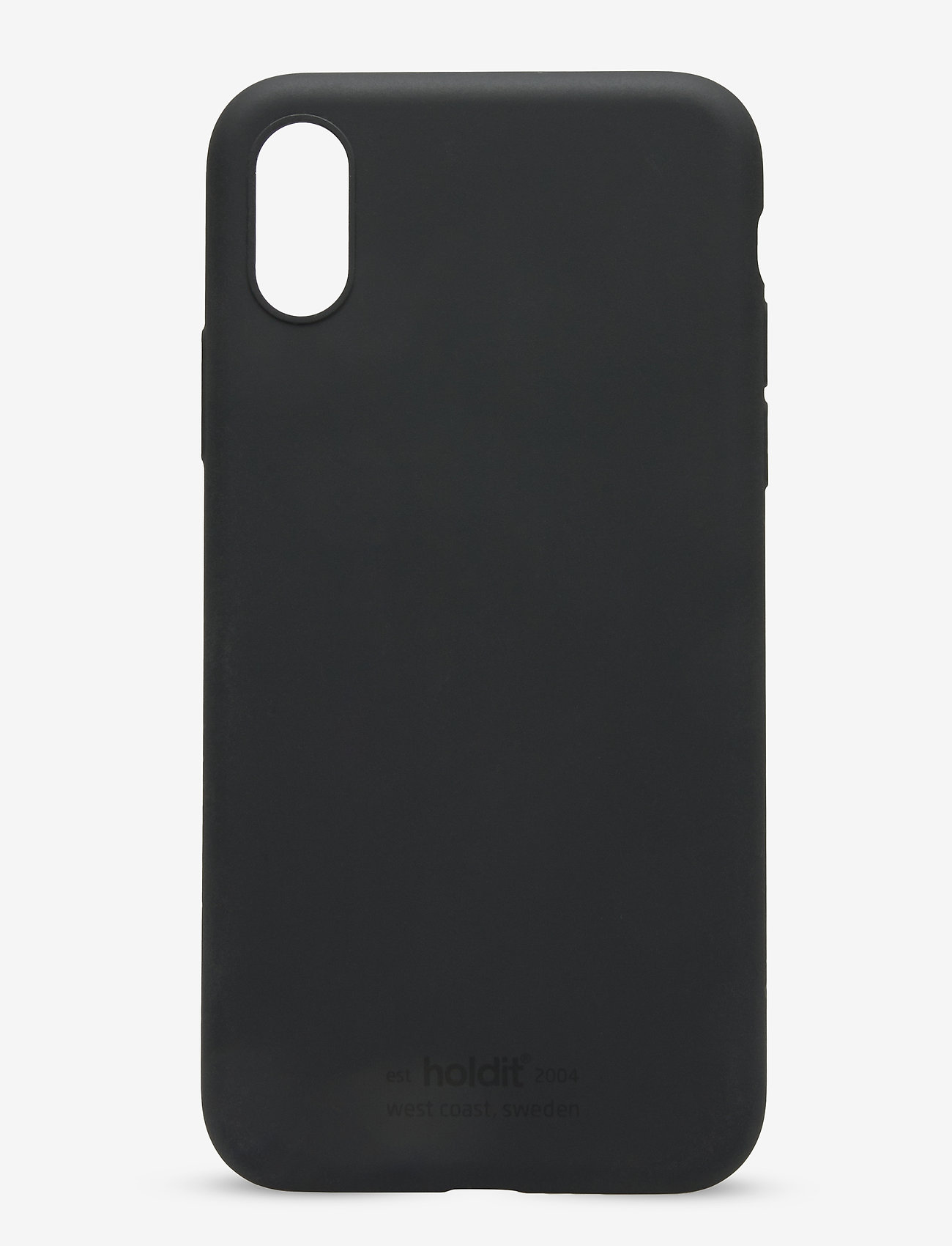 Holdit - Silicone Case iPhone X/Xs - puhelimen kuoret - black - 1