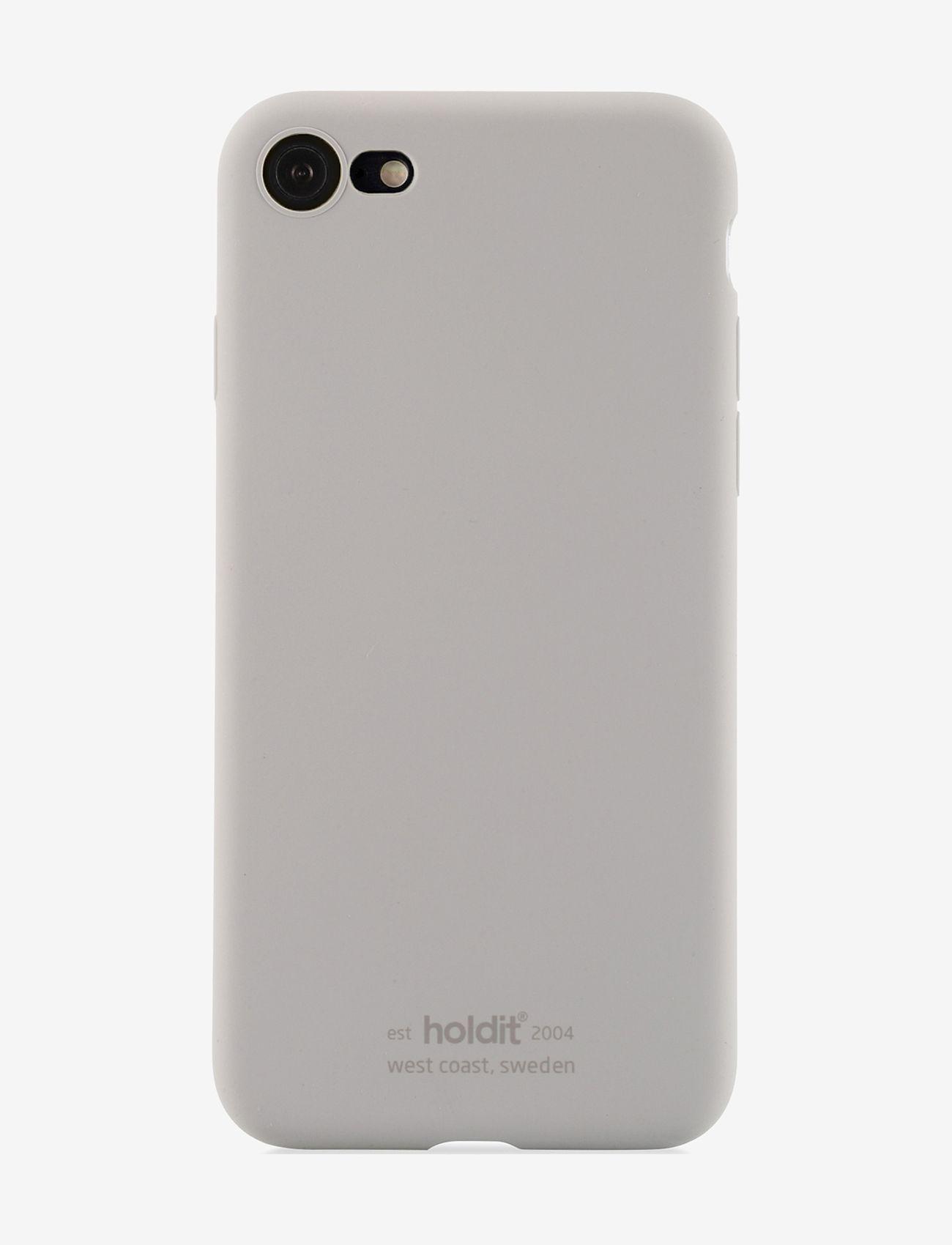 Holdit - Silicone Case iPhone 7/8/SE - puhelimen kuoret - taupe - 1