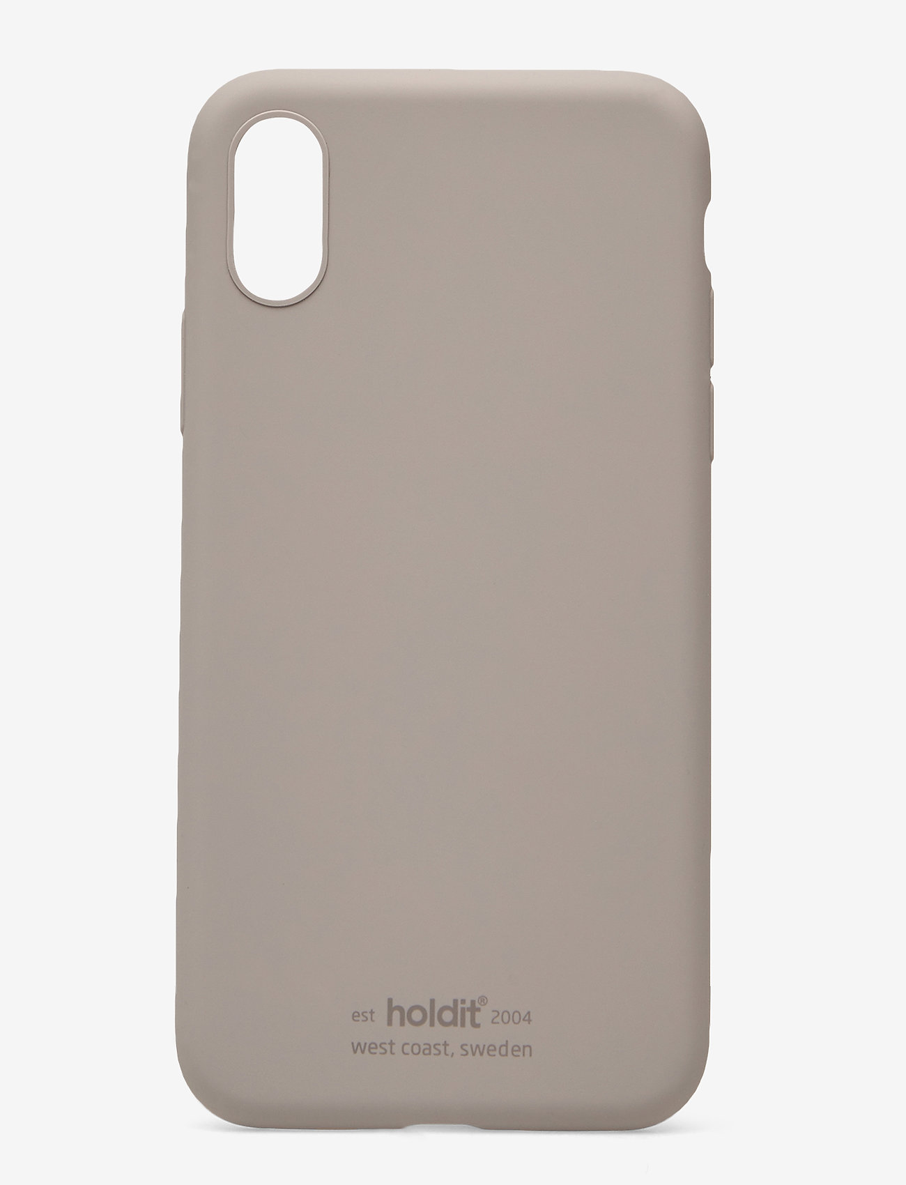 Holdit - Silicone Case iPhone X/Xs - puhelimen kuoret - taupe - 1
