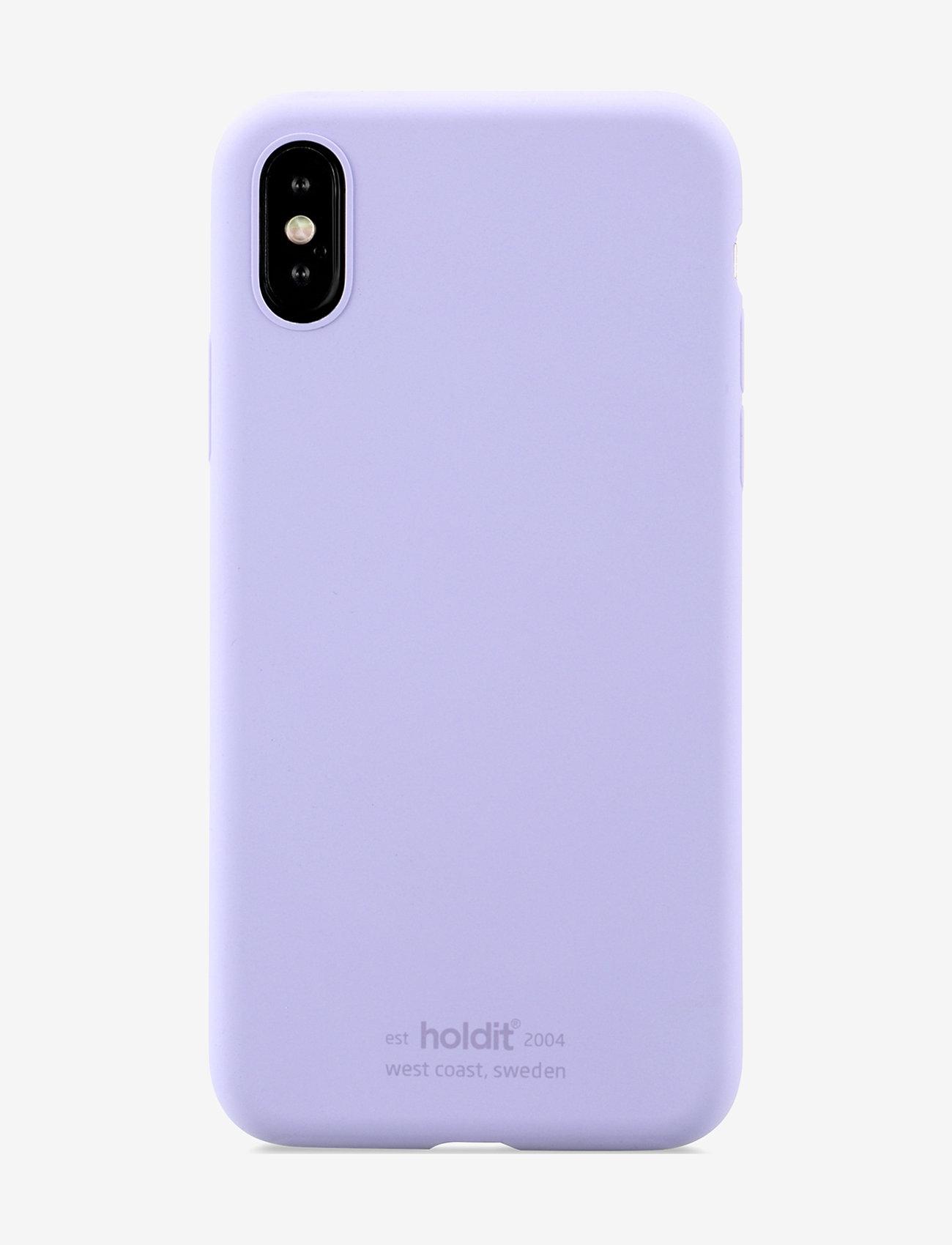 Holdit - Silicone Case iPhone X/Xs - puhelimen kuoret - lavender - 1