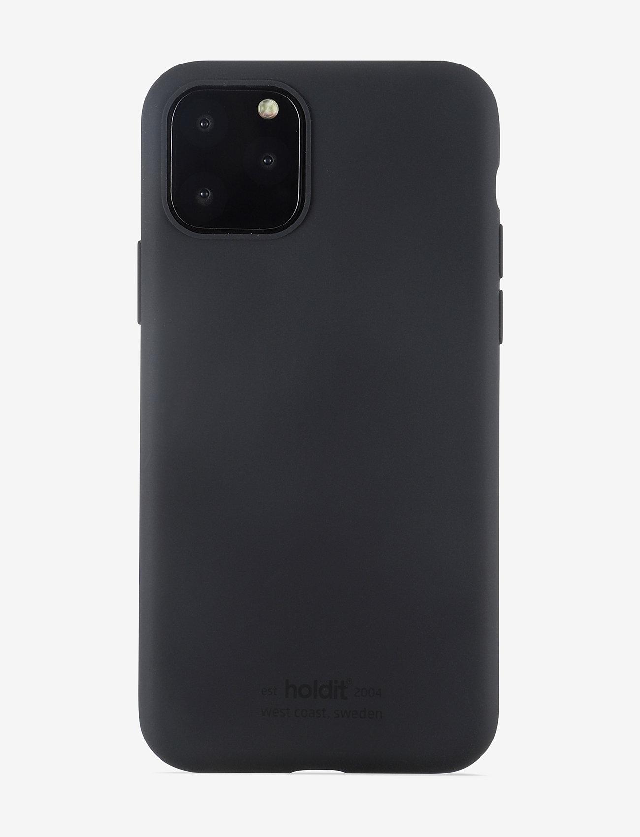 Holdit - Silicone Case iPhone 11 Pro - puhelimen kuoret - black - 1
