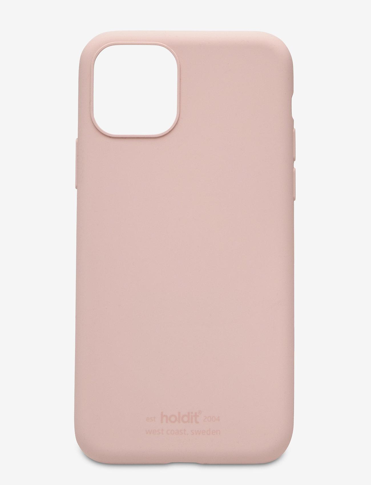 Holdit - Silicone Case iPhone 11 Pro - puhelimen kuoret - blush pink - 1