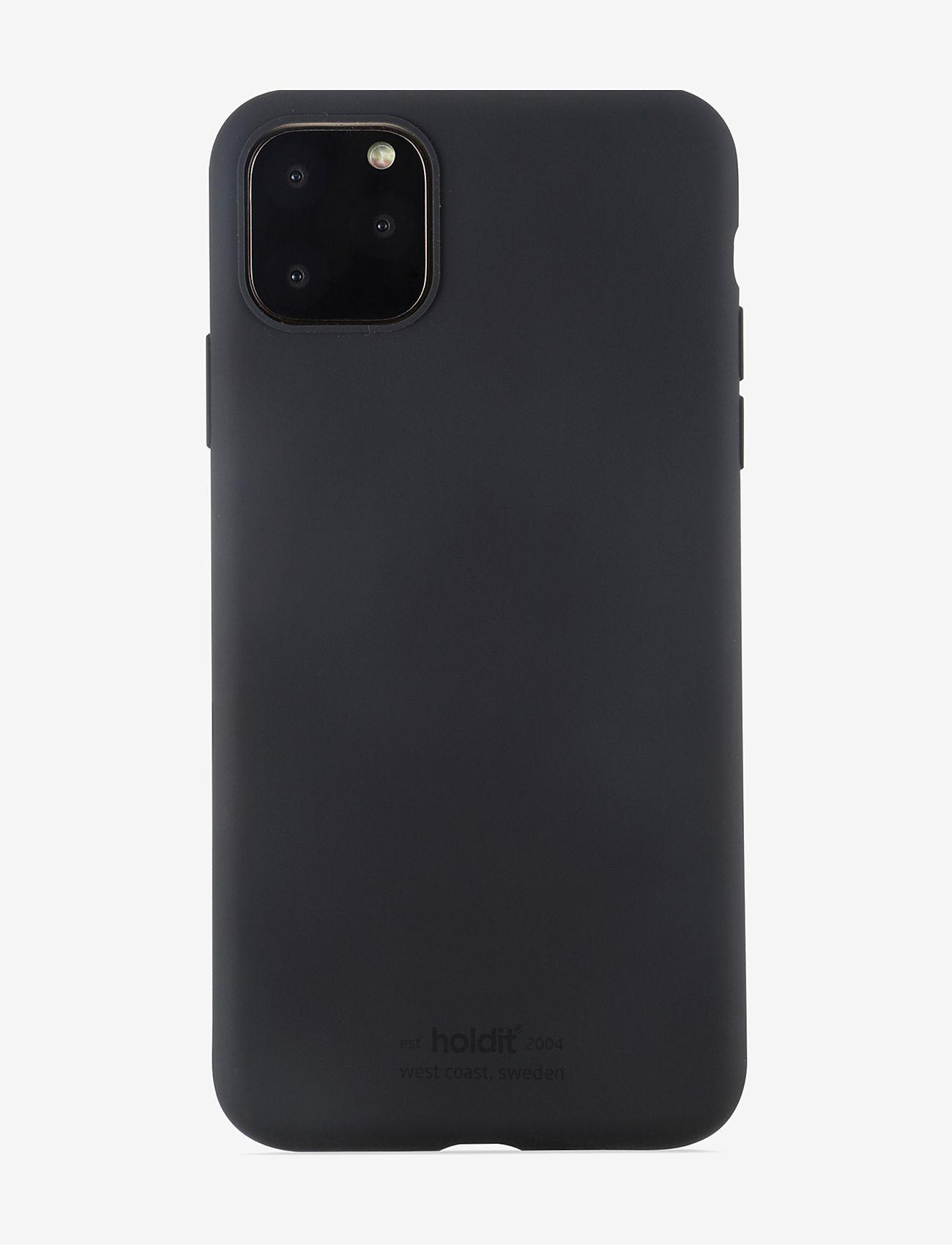 Holdit - Silicone Case iPh 11 Pro Max - puhelimen kuoret - black - 1