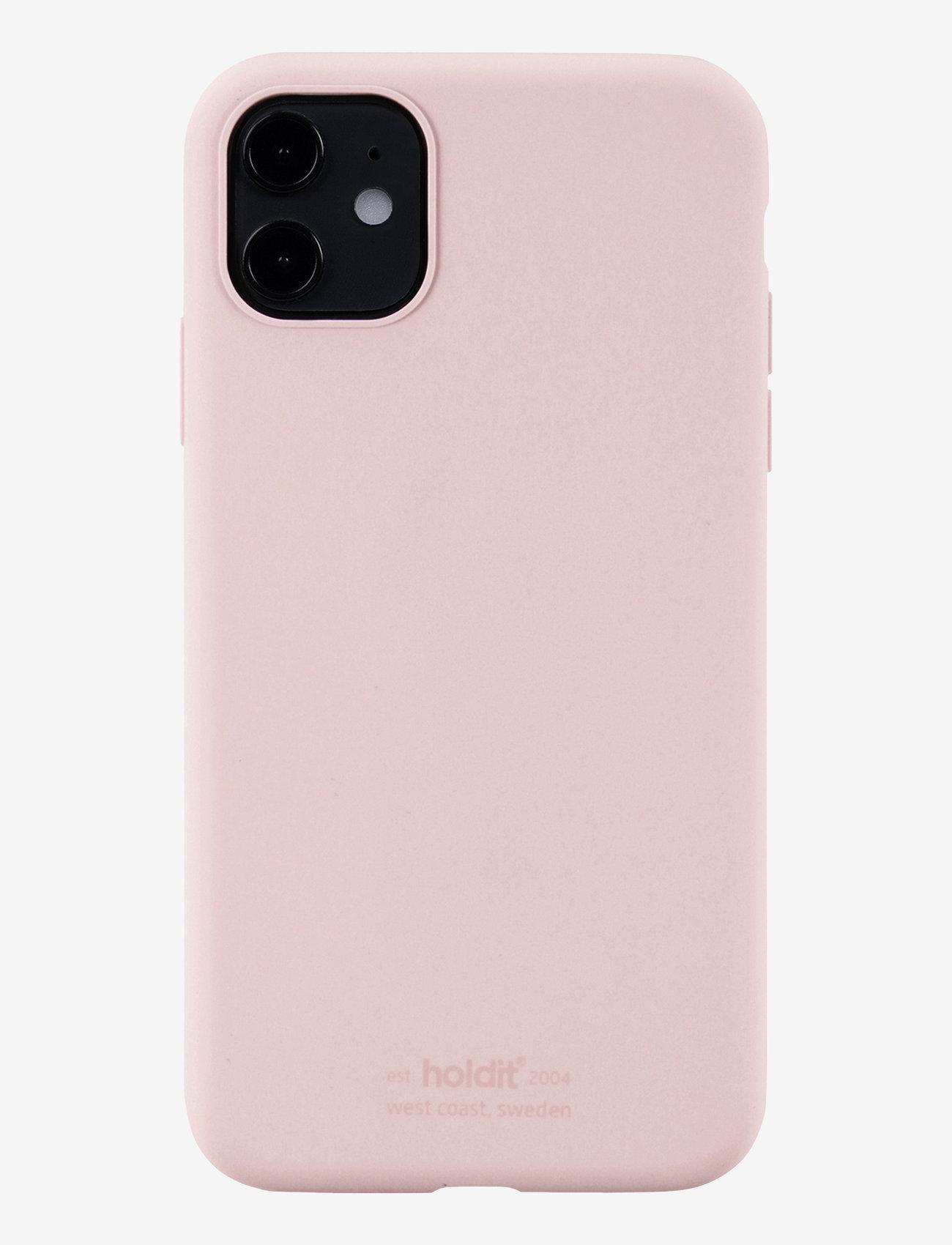 Holdit - Silicone Case iPhone 11 - puhelimen kuoret - blush pink - 1