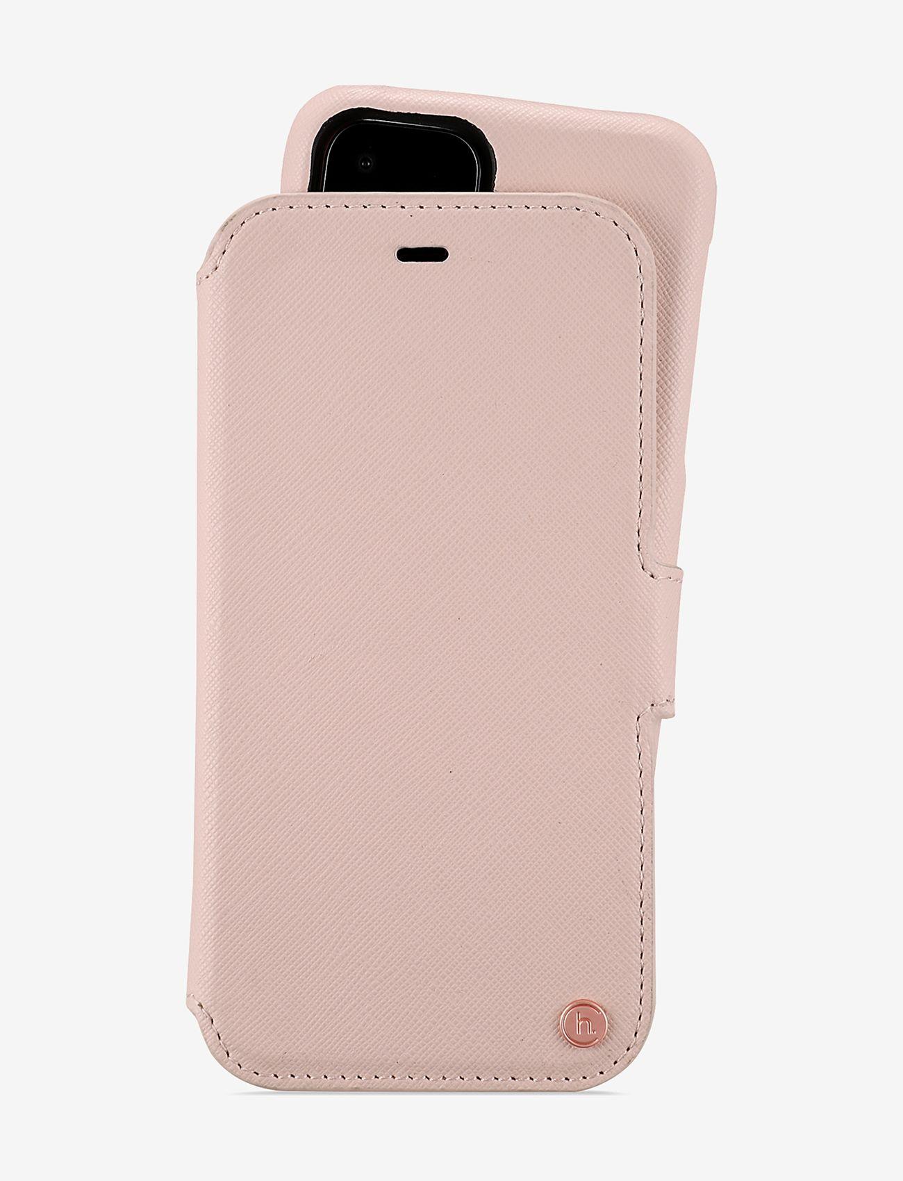 Holdit - Wallet Case Mag iPhone 11/XR - puhelimen kuoret - stockholm pink - 1