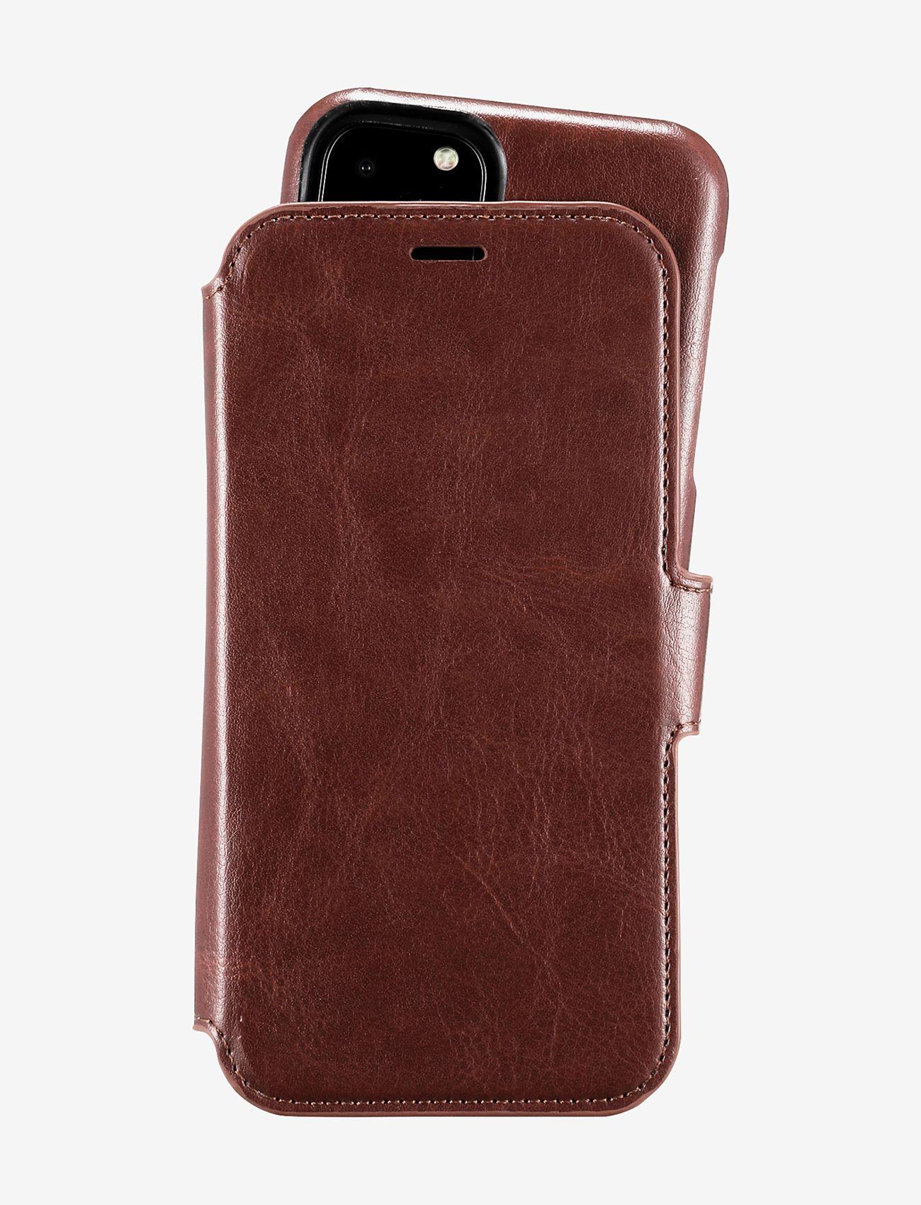 Holdit - Wallet Case Mag iPhone 11 Pro - puhelimen kuoret - berlin dark brown - 1