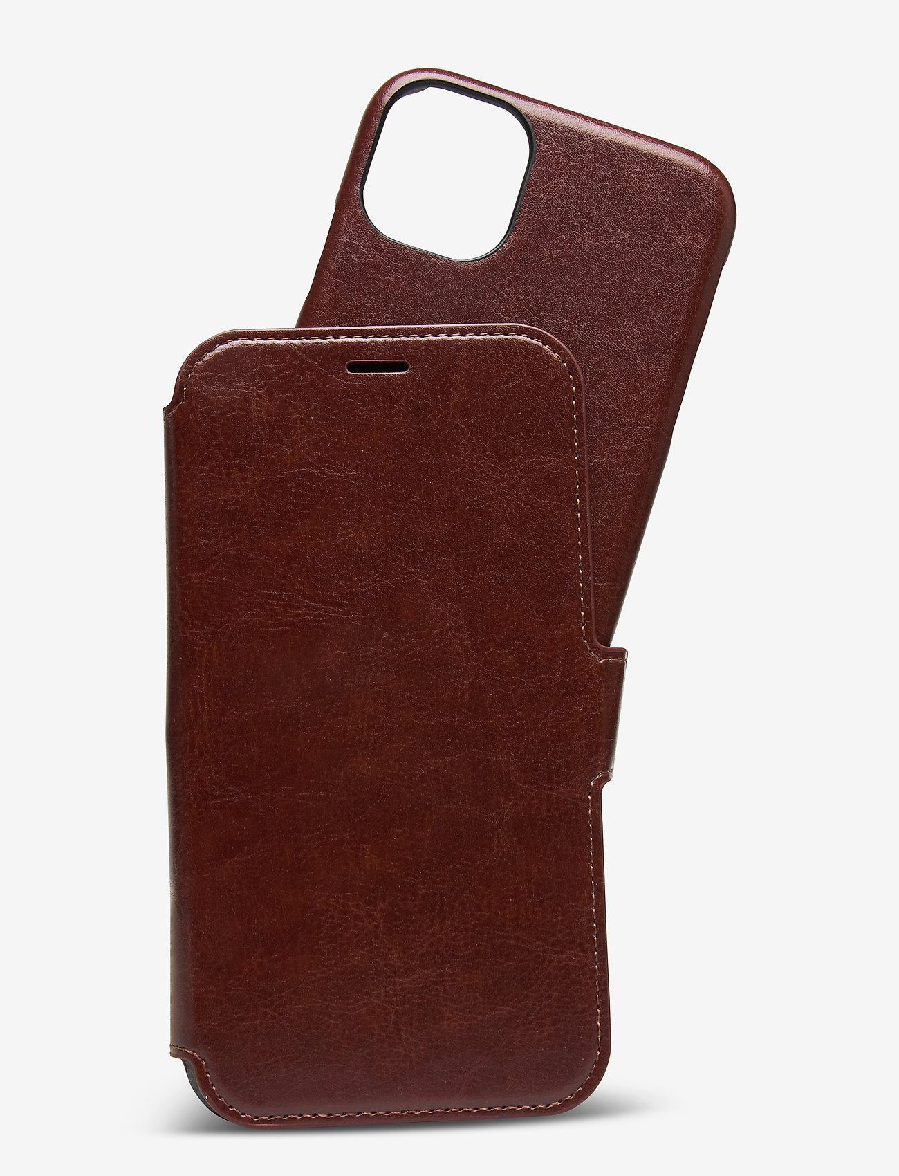 Holdit - Wallet Case Mag iPhone 11/XR - puhelimen kuoret - berlin dark brown - 1