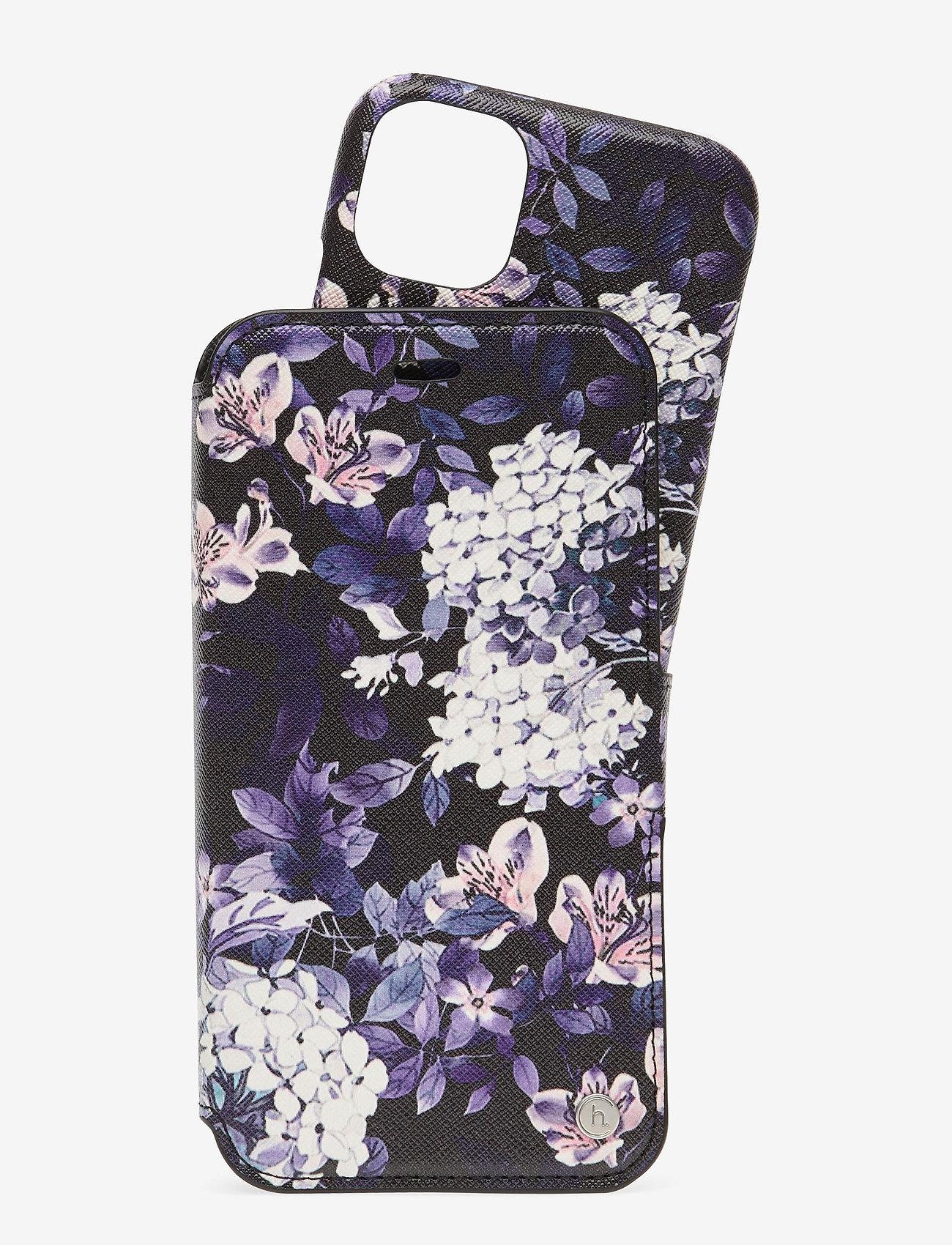 Holdit - Wallet Case Mag iPhone 11/XR - puhelimen kuoret - stockholm purple mist - 1