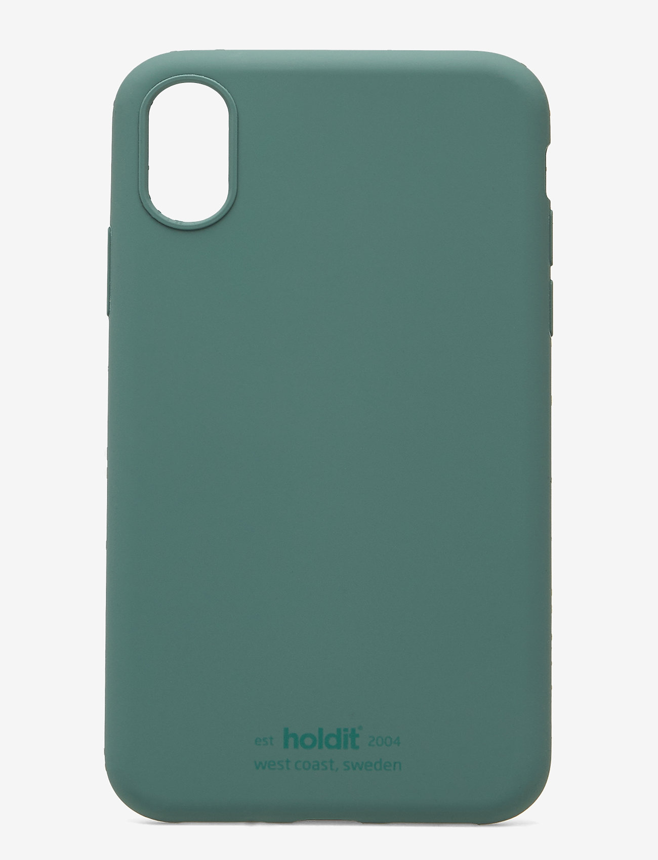 Holdit - Silicone Case iPhone X/Xs - puhelimen kuoret - moss green - 1