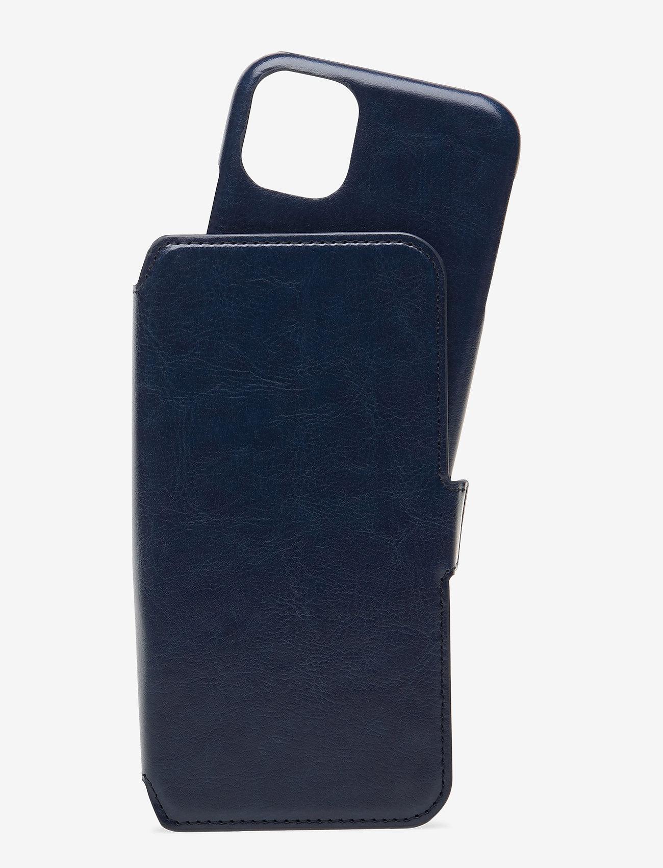Holdit - Wallet Case Mag iPhone 11/XR - puhelimen kuoret - berlin navy blue - 1