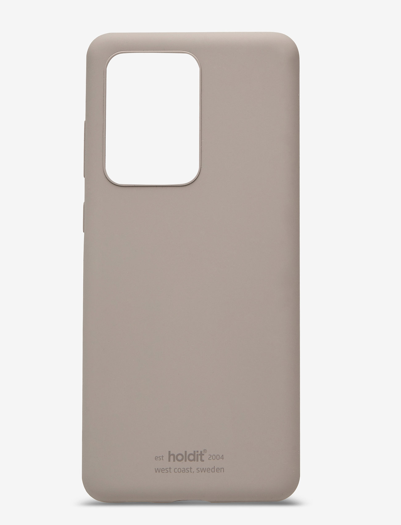 Holdit - Silicone Case Galaxy S20 Ultra - puhelimen kuoret - taupe - 1
