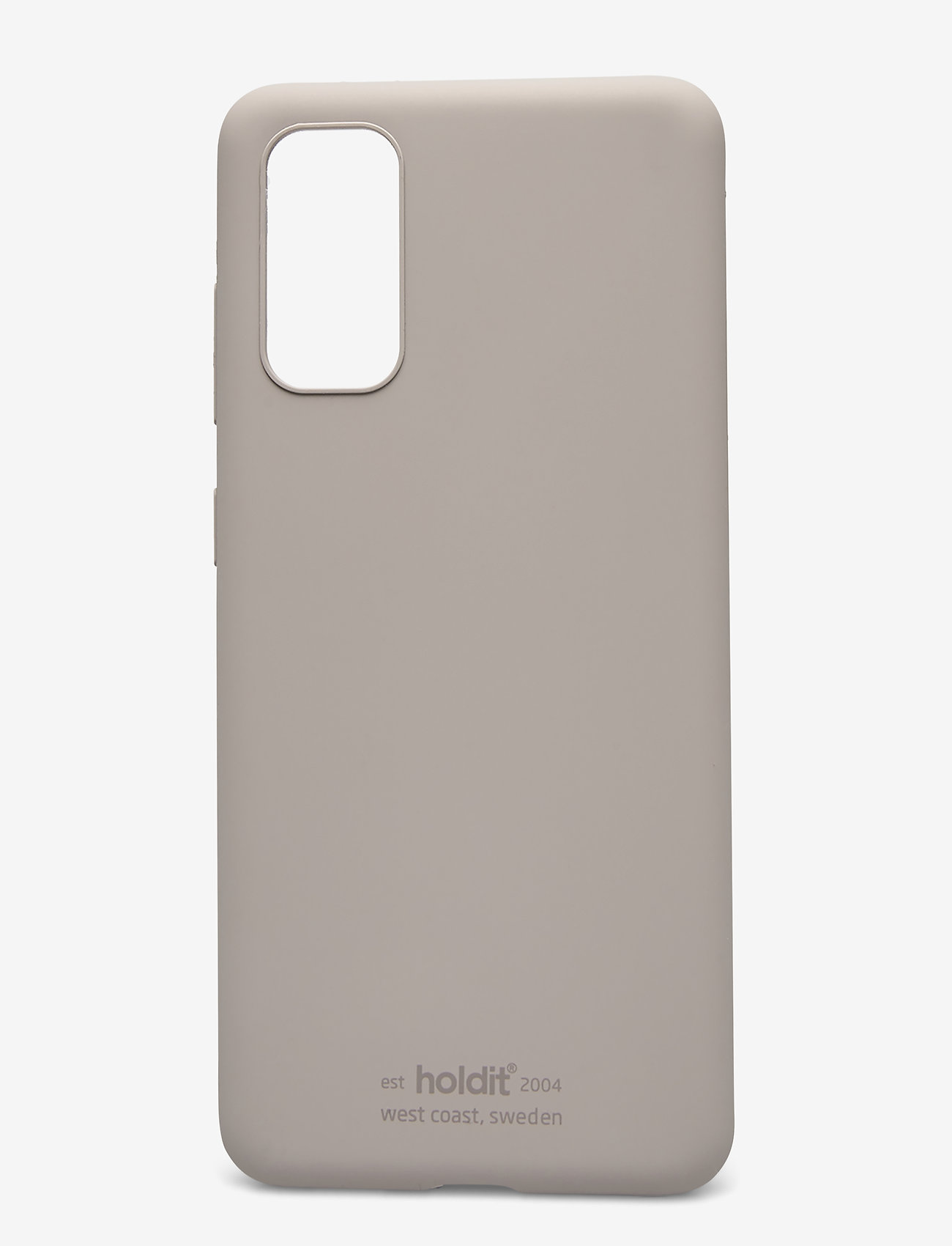 Holdit - Silicone Case Galaxy S20 - puhelimen kuoret - taupe - 1