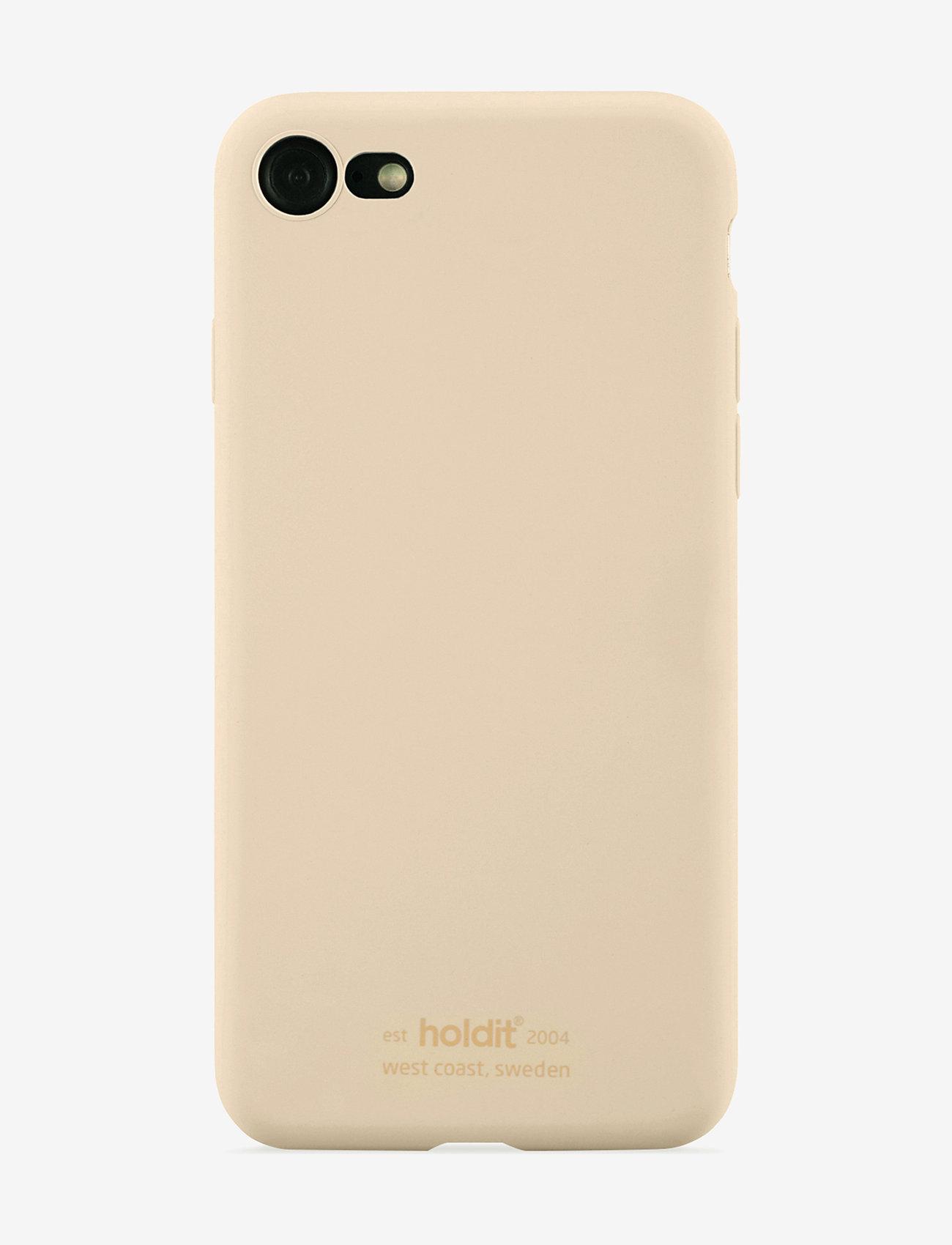 Holdit - Silicone Case iPhone 7/8/SE - puhelimen kuoret - beige - 1