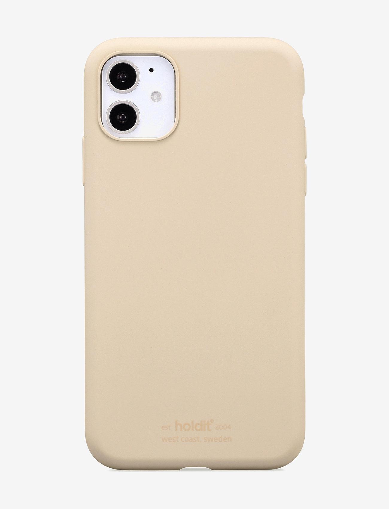 Holdit - Silicone Case iPhone 11 - puhelimen kuoret - beige - 1