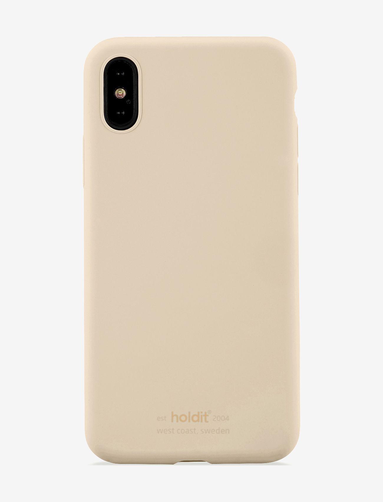 Holdit - Silicone Case iPhone X/Xs - puhelimen kuoret - beige - 1